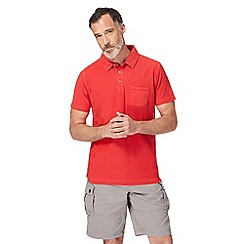 Mantaray - Red short sleeve polo shirt