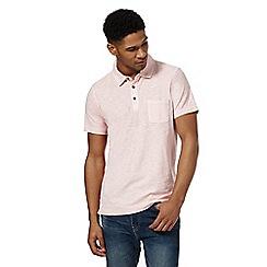 Mantaray - Big and tall pink short sleeve polo shirtá
