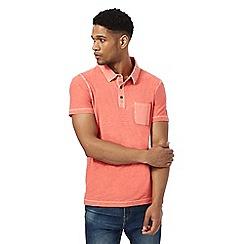 Mantaray - Peach short sleeve polo shirtá