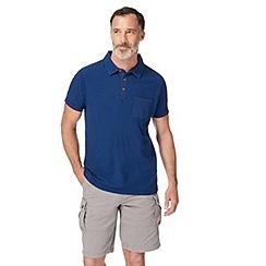 Mantaray - Big and tall navy short sleeve polo shirt