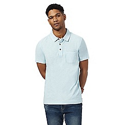 Mantaray - Pale blue short sleeve polo shirtá
