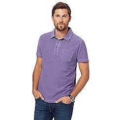 Mantaray - Purple polo shirt
