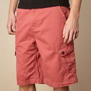 Big and tall mid rose basic cargo shorts