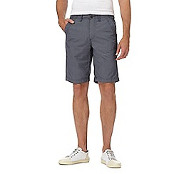 Mantaray - Big and tall navy stripe chino shorts