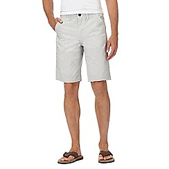 Mantaray - Natural stripe chino shorts