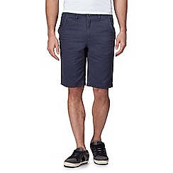 Mantaray - Big and tall navy chino shorts