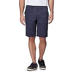Mantaray - Big and tall navy chino shorts