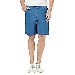 Mantaray - Big and tall blue chino shorts