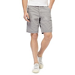 Mantaray - Light grey chino shorts