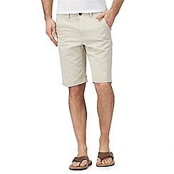Mantaray - Big and tall natural chino shorts