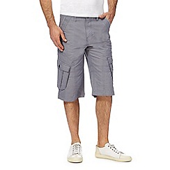 Mantaray - Grey pin dot cargo shorts