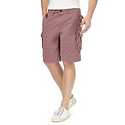 Mantaray - Red cargo shorts