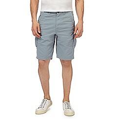 Mantaray - Light blue cargo shorts