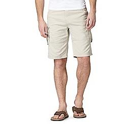 Mantaray - Big and tall natural cargo shorts