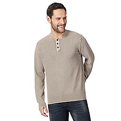 Mantaray - Big and tall natural textured granddad top