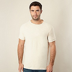 Mantaray - Natural plain crew neck t-shirt