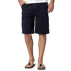 Mantaray - Navy pocket cargo shorts