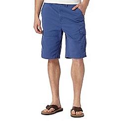 Mantaray - Bright blue cargo shorts