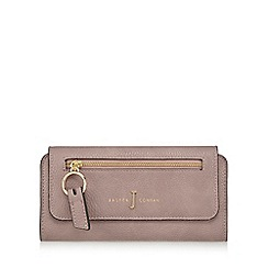 J by Jasper Conran - Light pink zip front large purse