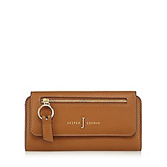 J by Jasper Conran - Tan zip front large purse