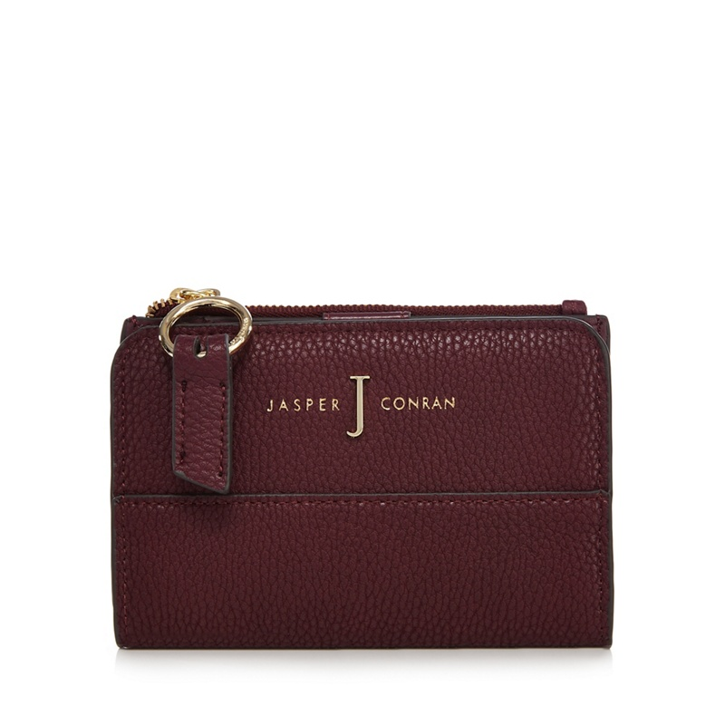 J by jasper conran plum fold over small purse for Jasper conran shop
