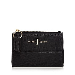 J by Jasper Conran - Black fold over small purse