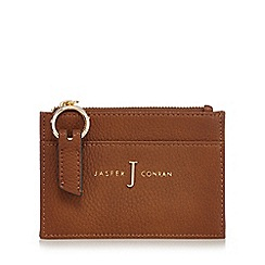 J by Jasper Conran - Tan zip coin purse