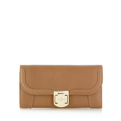 J by Jasper Conran - Designer tan leather twist lock purse
