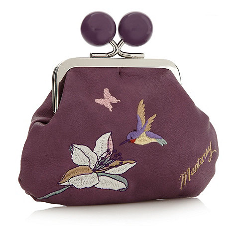 Mantaray - Purple hummingbird coin purse