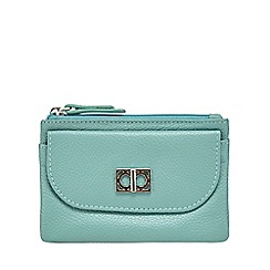 The Collection - Turquoise leather coin purse