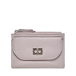 The Collection - Lilac leather coin purse