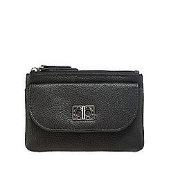 The Collection - Black leather coin purse