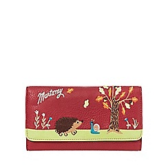 Mantaray - Red hedgehog purse