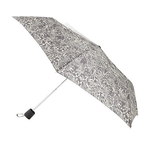 Mantaray - Grey swirl logo umbrella