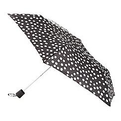 RJR.John Rocha - Designer navy spotted umbrella
