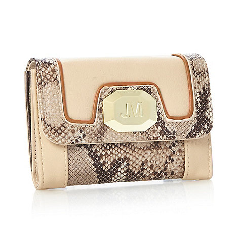 Star by Julien Macdonald - Designer natural snake panel purse