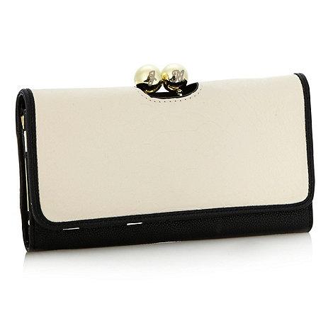 Star by Julien Macdonald - Designer cream colour block purse