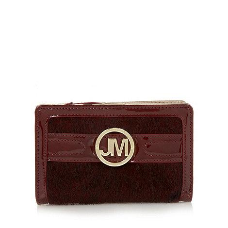 Star by Julien Macdonald - Designer wine faux pony hair purse