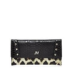 Star by Julien Macdonald - Black croc-effect purse