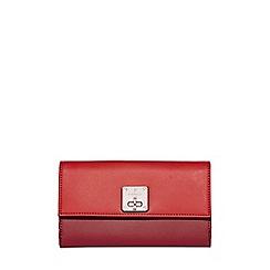 Fiorelli - Red Chiltern turnlock dropdown purse