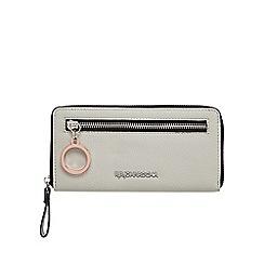 RJR.John Rocha - Grey zip around purse