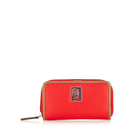 Principles by Ben de Lisi - Designer red medium grained purse