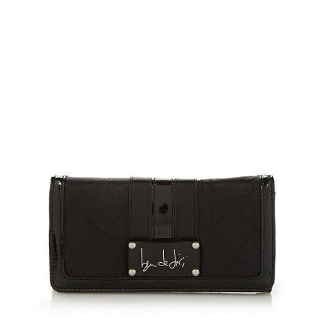 Principles by Ben de Lisi - Designer black geometric jacquard purse