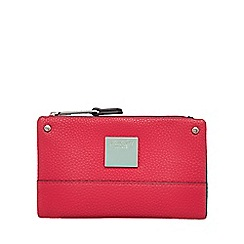 Principles by Ben de Lisi - Pink small fold over purse