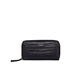 Fiorelli - Black clemence zip around purse