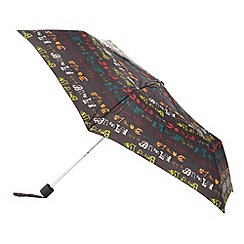 Principles by Ben de Lisi - Designer navy signature logo umbrella