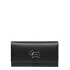 Radley - Black heritage dog large flapover matinee purse
