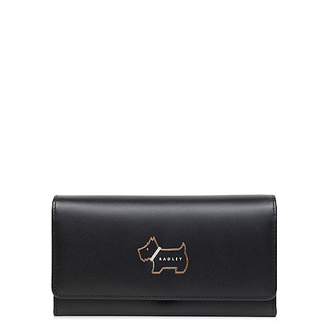 Floozie by Frost French - Black patent spotted coin purse