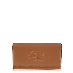 Radley - Shadow tan large flapover matinee purse
