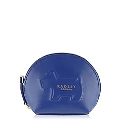 Radley - Lemons blue small zip around coin purse
